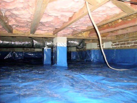 Crawlspace Encapsulation Myrtle Beach